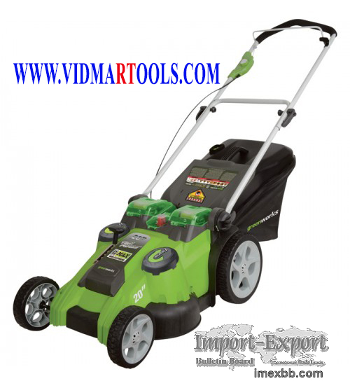 Greenworks G-MAX 40V Dual Blade Cordless Lawn Mower 20in. Deck