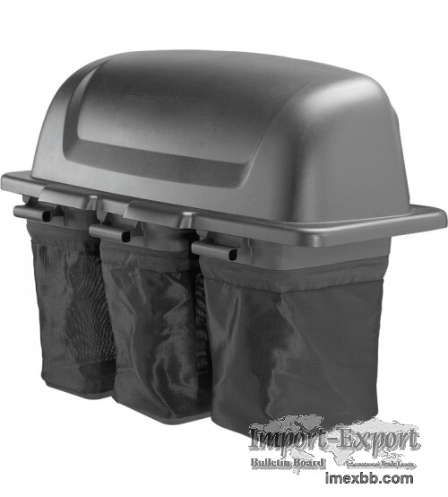 Triple Bin Soft Side Bagger For Poulan Pro and Husqvarna 54in