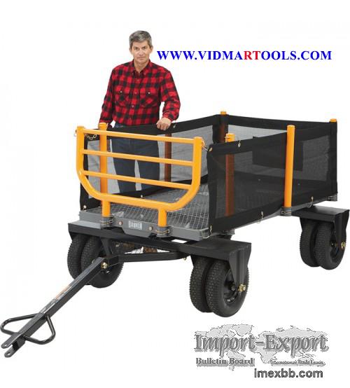 Bannon 3 in 1 Convertible Logging Wagon 1,800 Lb. Capacity, 36 Cu. Ft
