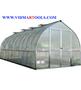 Palram Bella Hobby Greenhouse 20ft. x 8ft., Silver Frame