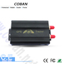 gps vehicle alarm system 3g gps tracker tk103 with car gps tracking system