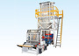 High and low pressure film blowing machine