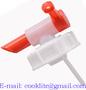 Aftapkraan met schroefdop voor plastieken bussen / Dopkraan jerrycan DIN 71