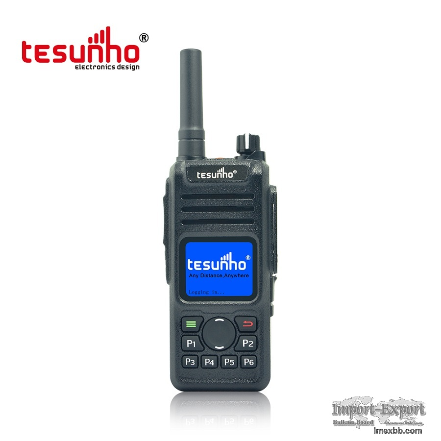 Tesunho TH682,GPS Patrol Walkie Talkie With LTE 4G 3G Simcard