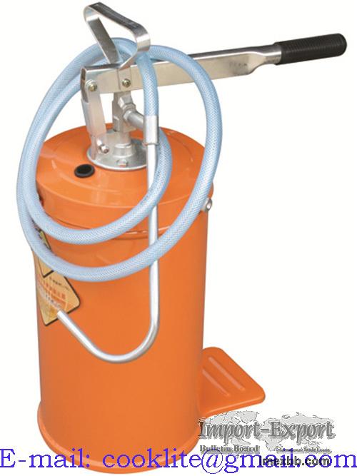 Distributeur de graisse sur roues seau de 16kg Pompe à graissage pour seau
