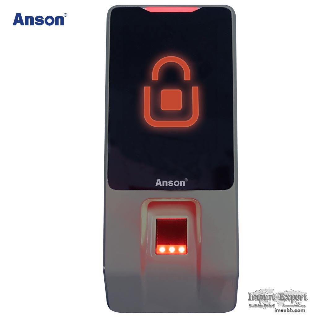 Fingerprint+RF card recognition access time attendance device