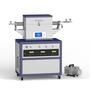 2 zone 1200℃ vacuum CVD machine for Nanotube