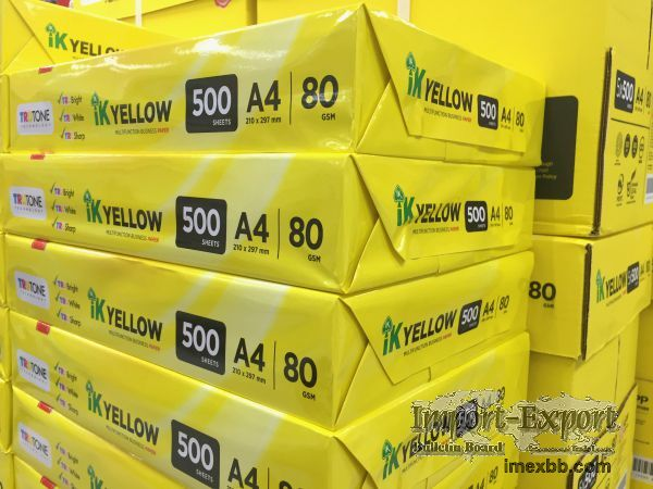 A4 White Office Paper, White A4 Printing Paper 80 GSM $0.85/ream
