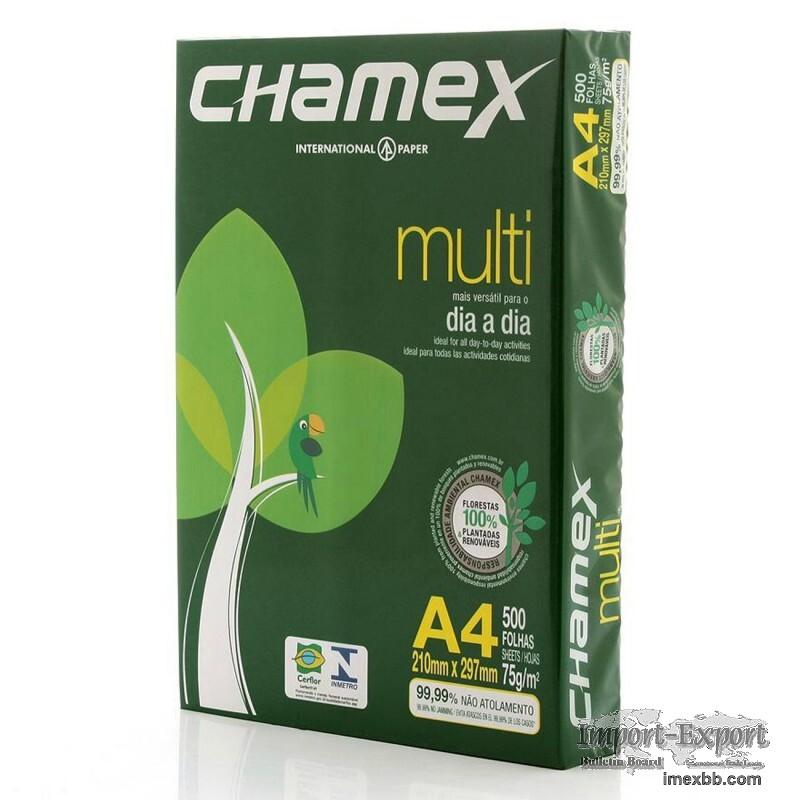 Chamex Copy Paper A4 80GSM $0.85/ream