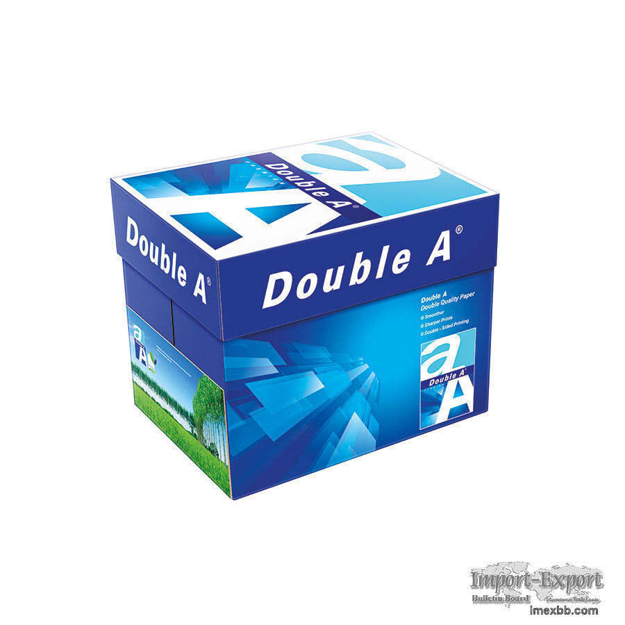 Double A Premium Quality A4/A3 Multi Purpose Office Paper 80 GSM $0.85/ream
