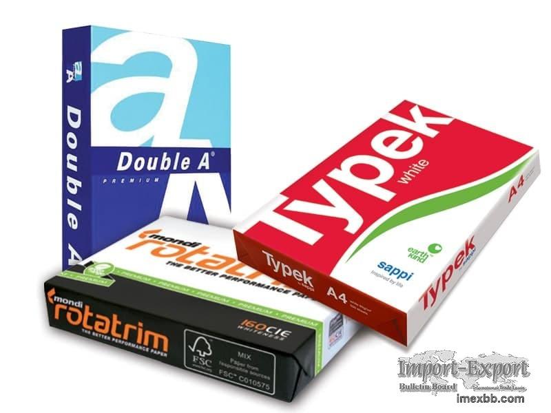 Reflex Copy Paper, JK Copier A4 Paper, Mondi Rotatrim Chamex $0.85/ream