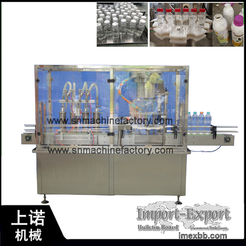 Fast delivery Automatic 50ml 100ml 500ml bottle alcohol filling machine