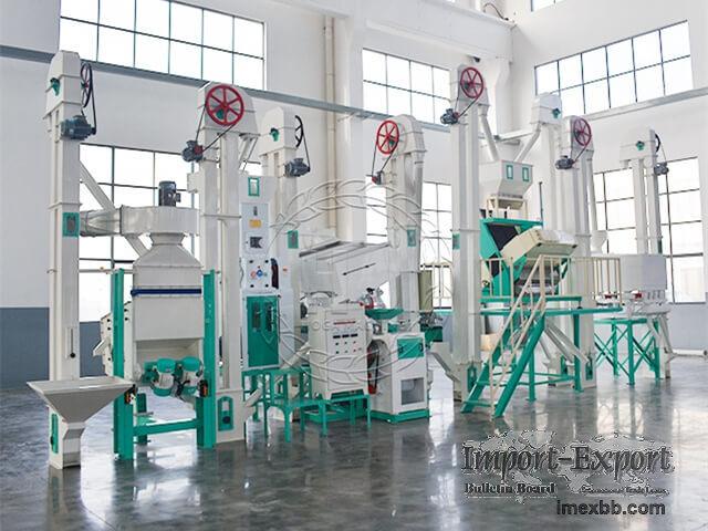 30T/D Modern Design Rice Mill Plant