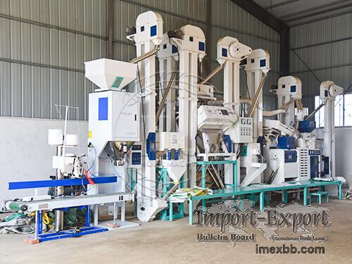 25T/D Modern Rice Mill Plant