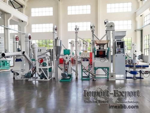 15TPD Modern Design Rice Mill Plant