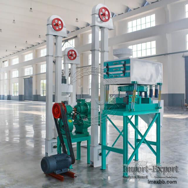 10T/D Mini Rice Mill Plant