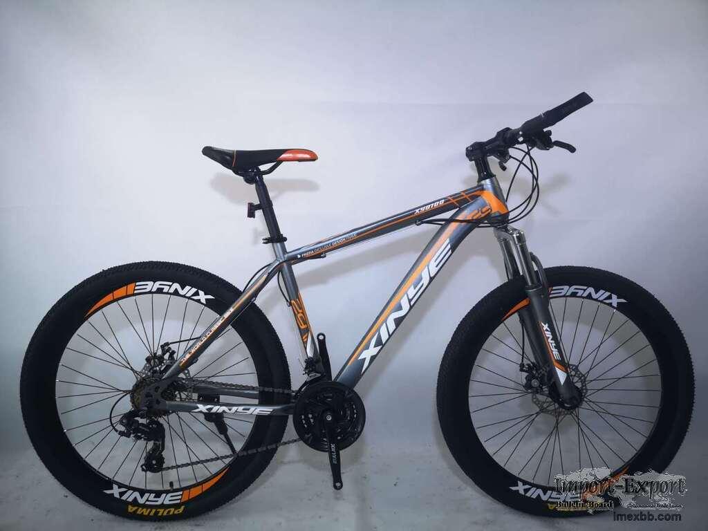 Adolescent student adult mountain bike
