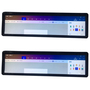 Flat surface edge plus lcd display touch screen/ touchscreen LCD monitor