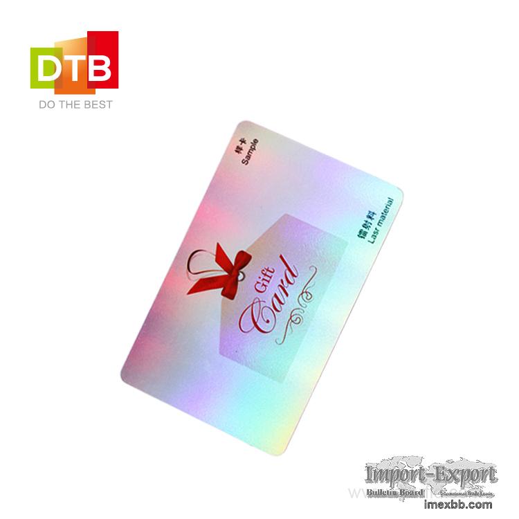 RFID ISO Plastic Card