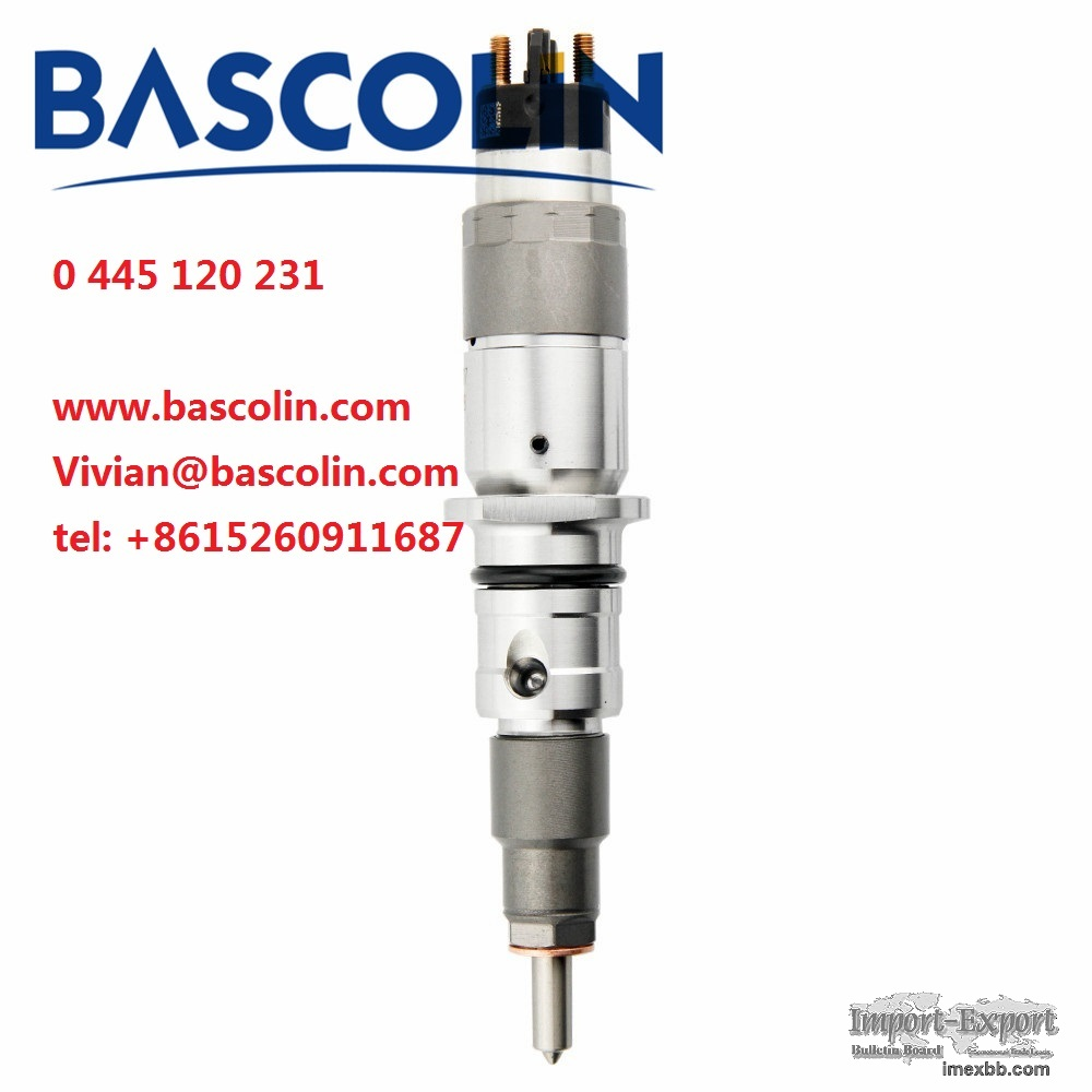 BASCOLIN common rail injector 0 445 120 231 BOSCH parts 0445120231