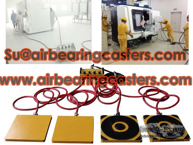 Air skate protect floor moving tools with air and steadily works