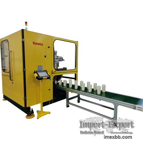 Kowey in Mold Labeling Side Entry Injection Robot