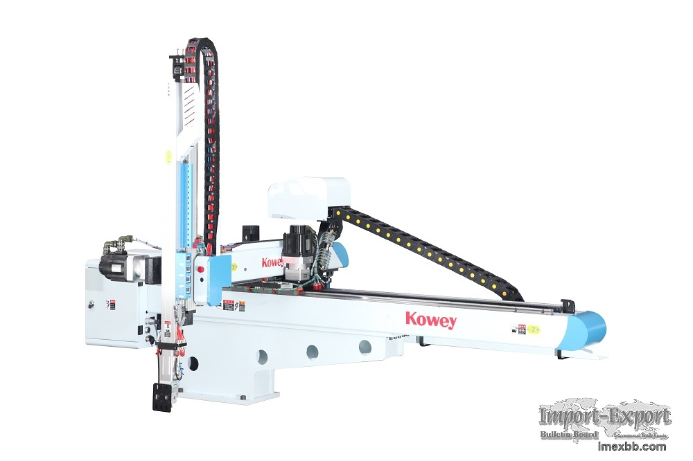 Kowey Upgraded Pet Preform Take-out Injection Robot Top Entry Robot