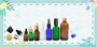 essentail oil glass bottle