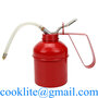 High Pressure Pump Oil Can 300ML Feed Oil Pot with Flexible Spout