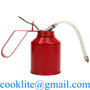 High Pressure Oil Can 250CC Hand Held Pump Oiler Lubrication