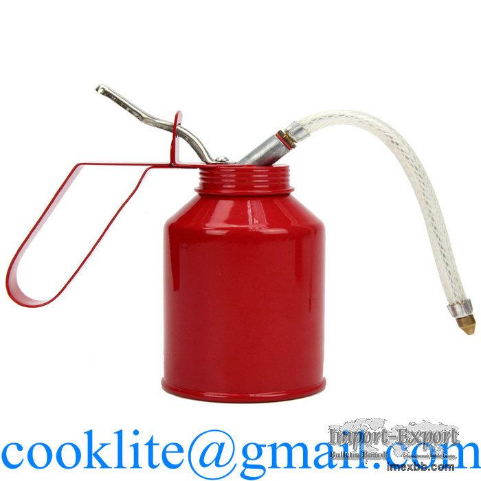 High Pressure Oil Can 250CC Hand Held Pump Oiler Lubrication