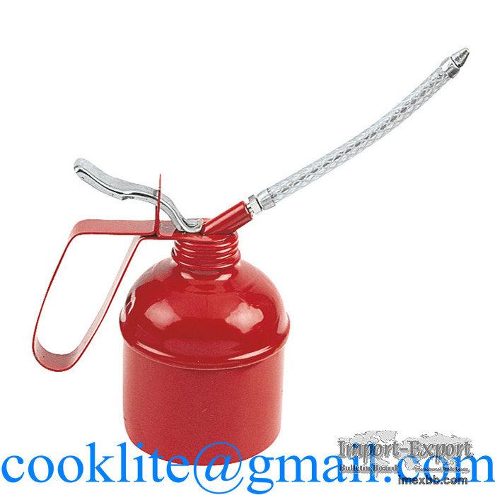 Handy Oiler 500CC Manual Grease Fed Oil Gun High Pressure Lubricating Oiler