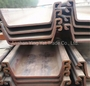 U-type hot rolled steel sheet pile