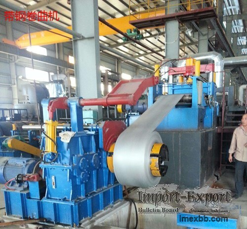steel strip coiler