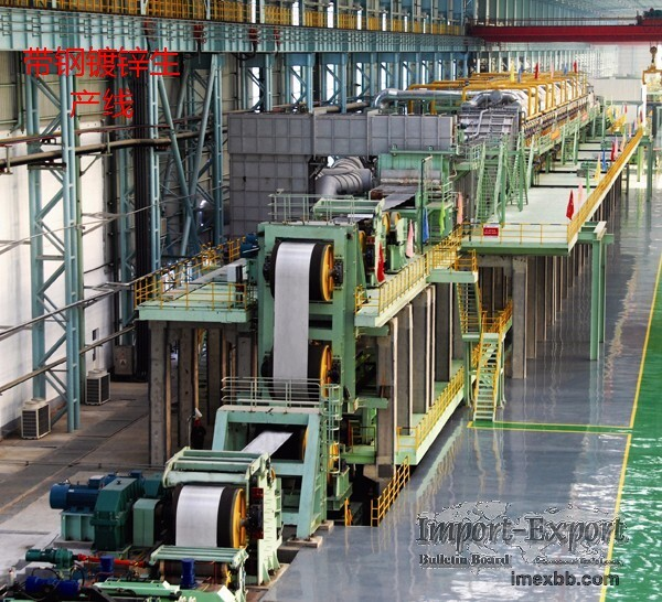 strip steel galvanizing production line