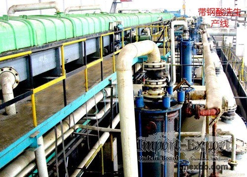 strip steel pickling production line