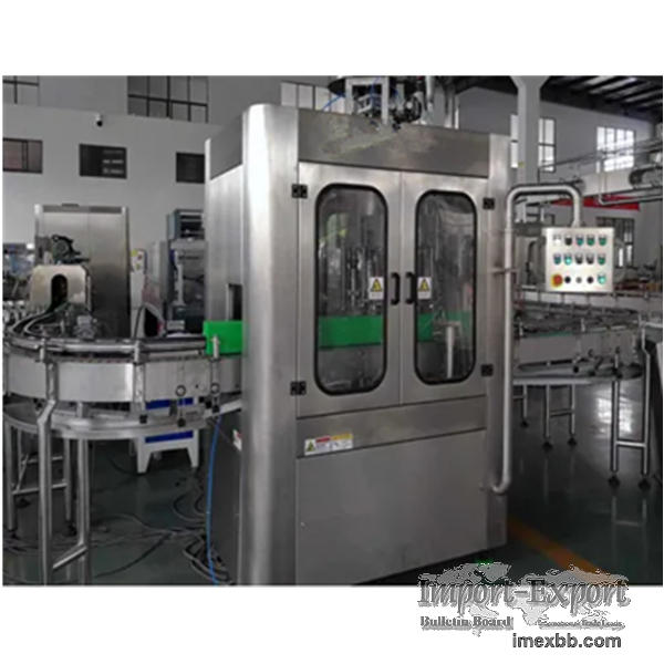 Automatic Canned Drink Filling Sealing Machine
