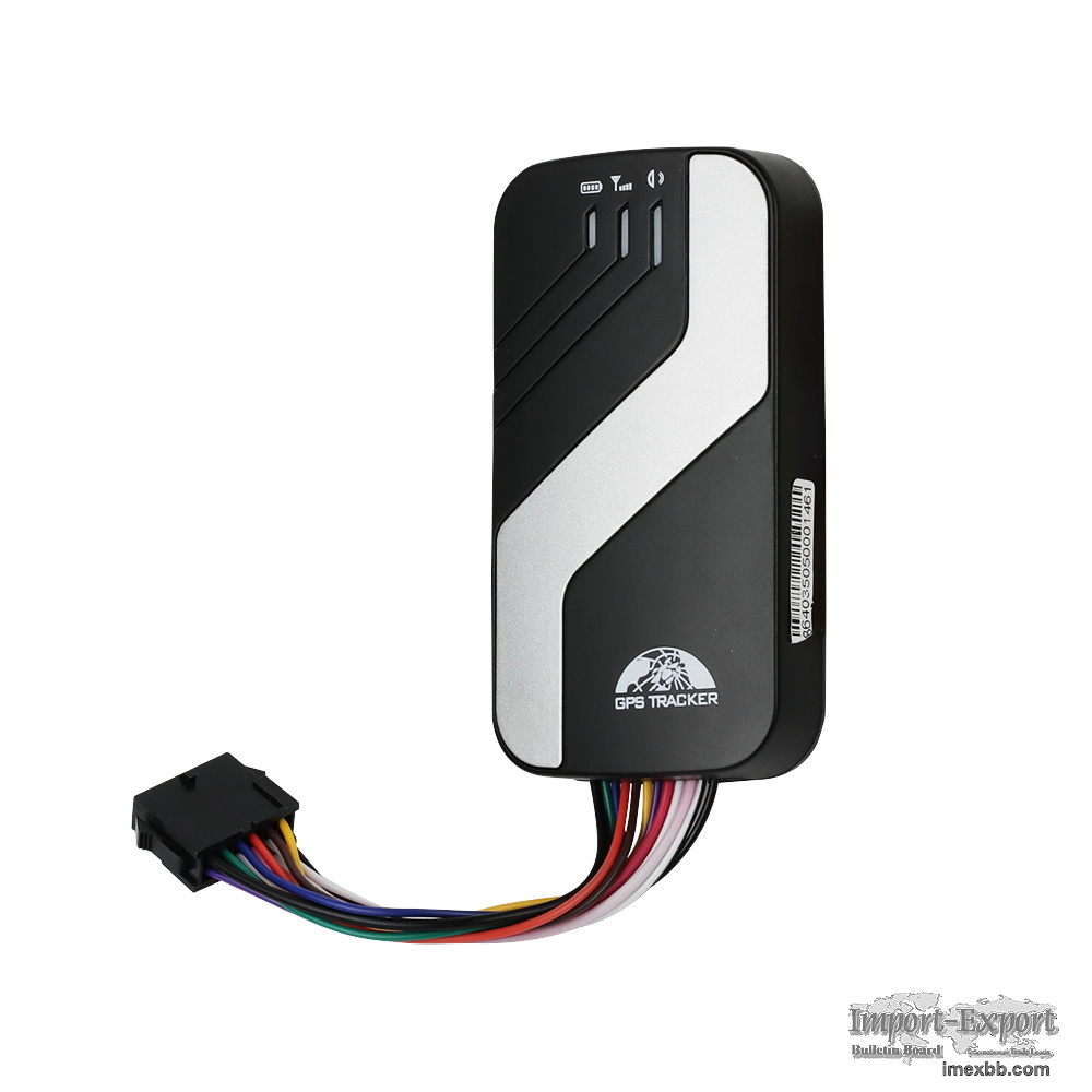 Vehicle GPS tracking system with engine stop GPS403A