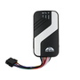Vehicle tracking device GPS403a with door alarm remote stop engine