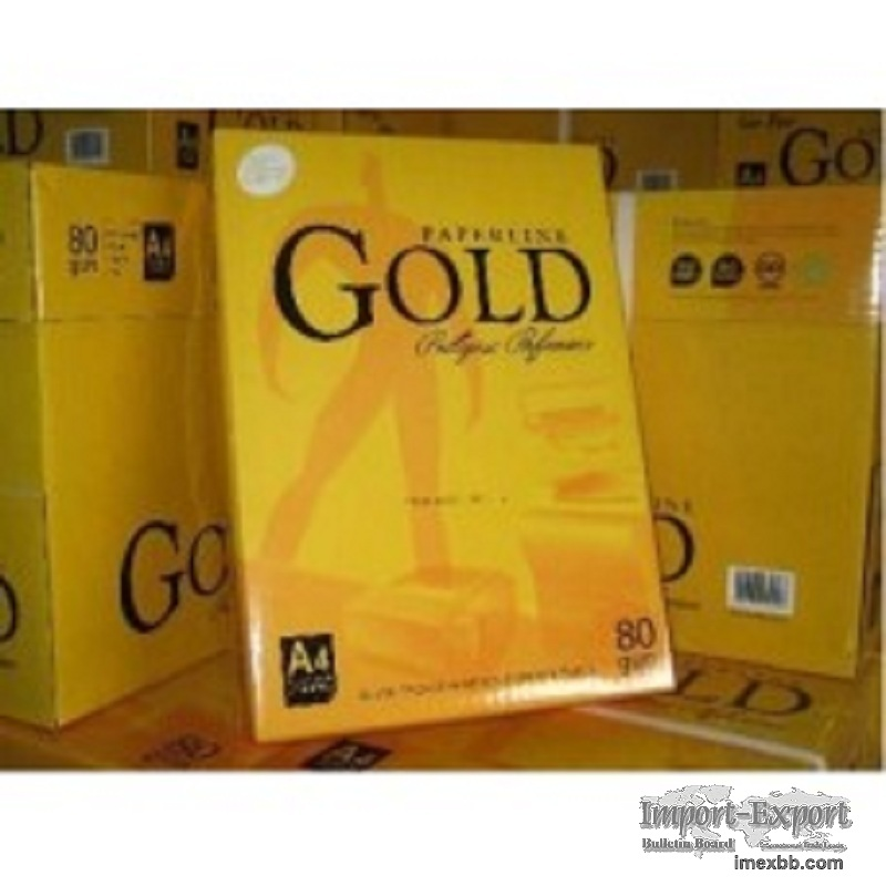 Paperline Gold Copy Paper A4 70gsm/75gsm/80gsm
