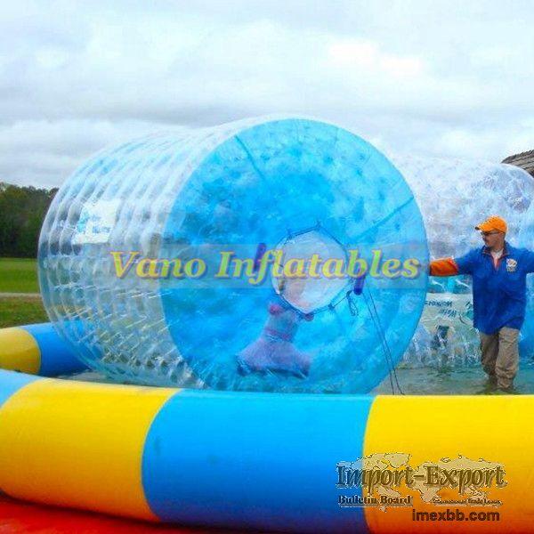WaterRollers ZorbRamp Water Roller Inflatable Wheel Water Walker Bubble Orb