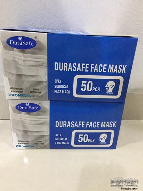 Disposable Face Mask 2Ply/3ply/4ply Ear loop & Tie On surgical mask For Sal