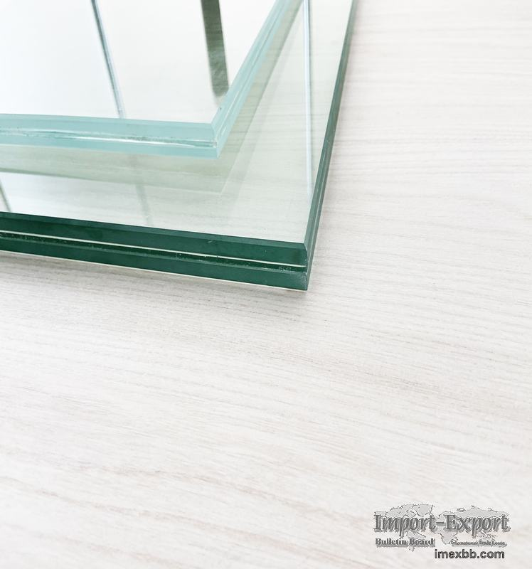Low-iron Laminated Glass  tempered laminated glass price