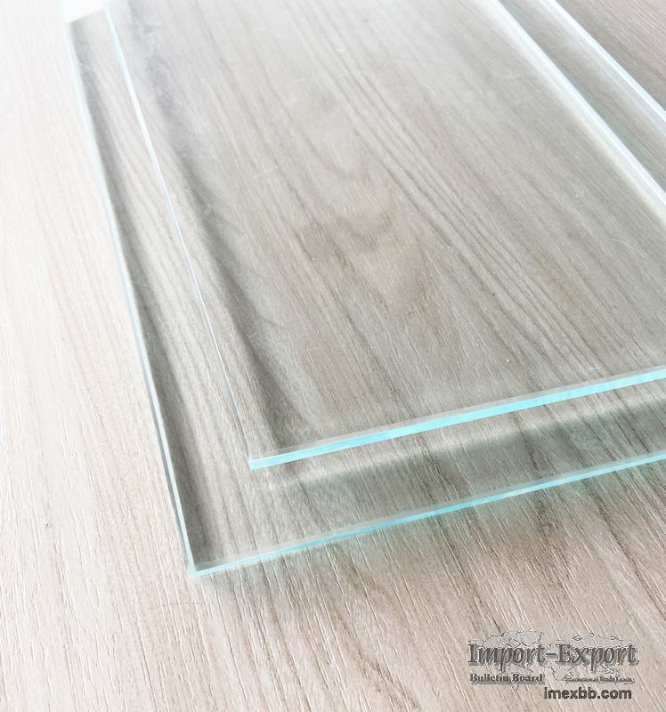 Low-iron Toughened Glass  4mm/5mm /6mm/8mm/10mm/12mm Toughened Glass