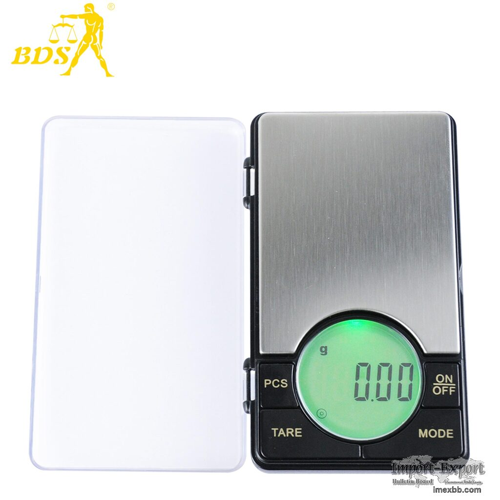 0.01g accurate powder scale tobacco digital pocket scale jewelry gold scale