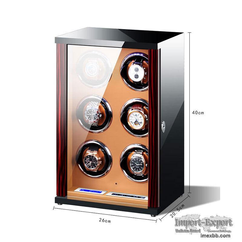 Vertical Design Watch winder  6 Slots Watch Winder