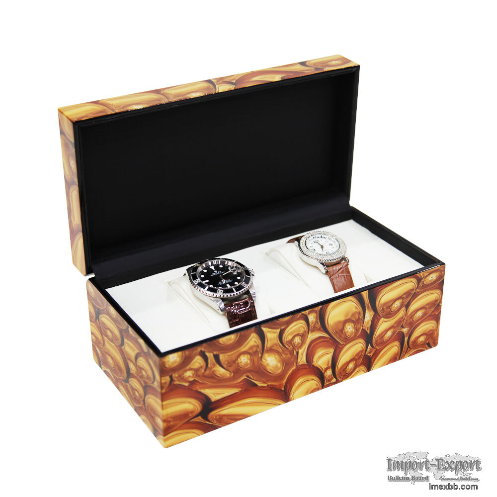 Collection Classical Mix Color Watch Case Storage Display Box