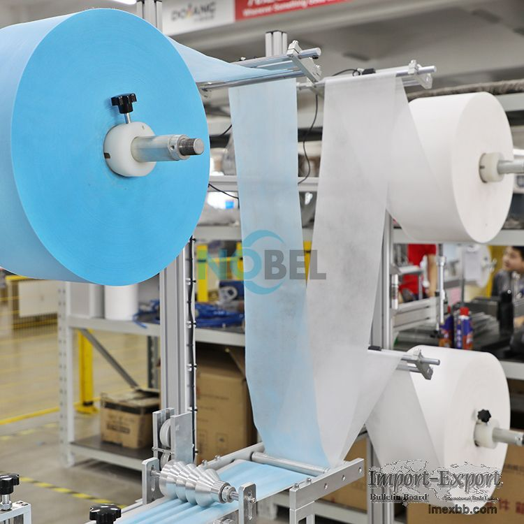 NBL-9600 High-speed Fully Automatic Flat Face Mask Production Line