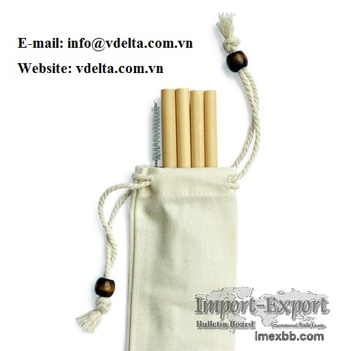 Eco-friendly Bamboo Drinking Straw