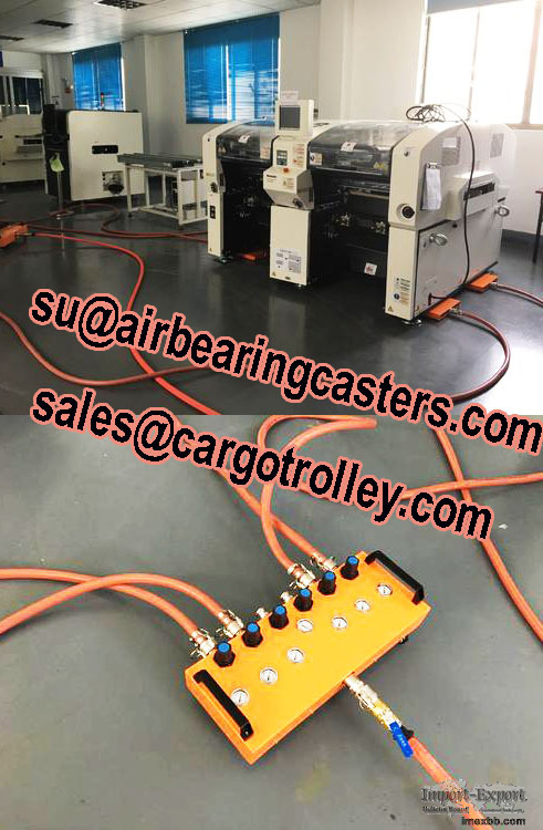 Air casters price list with application